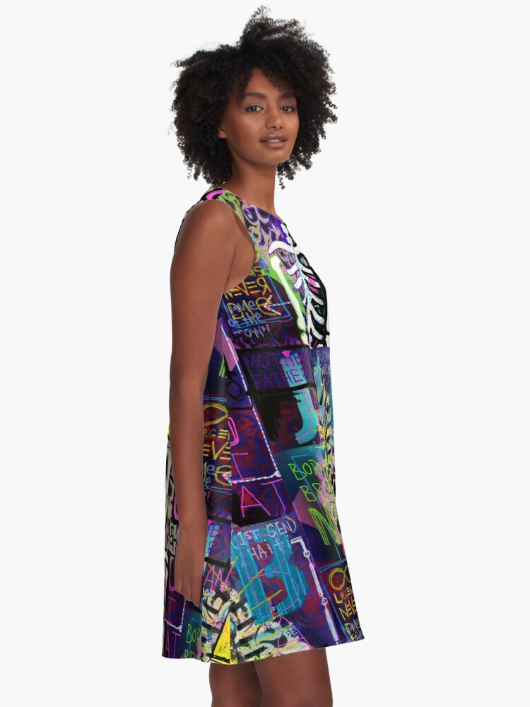 Alternate view of A Tribute to JMB A-Line Dress