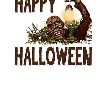 HAPPY HALLOWEEN ZOMBIE STYLE by Sparty1855