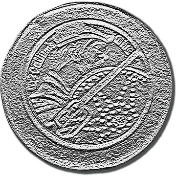 An Scottish warrior seal by juancalop
