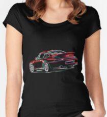 Porsche 911 Turbo (993) Women's Fitted Scoop T-Shirt