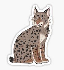 Eurasian Lynx Sticker