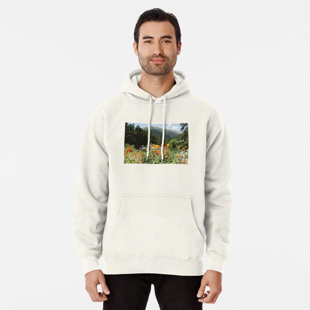 Mountain garden Pullover Hoodie