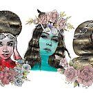 Goddess Trio of Science by Emjonesdesigns