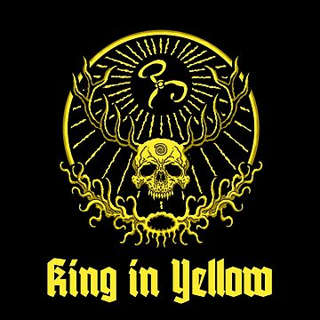 King in Yellow Logo - Azhmodai 2018 by Azhmodai
