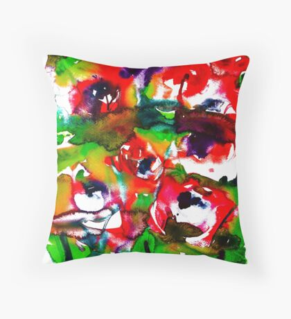 BAANTAL / Pollinate / Lust #2 Throw Pillow
