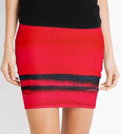 BAANTAL / Lines #2 Mini Skirt