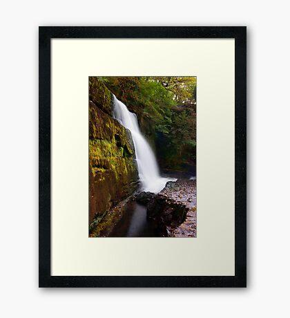 Sgwd Clun Gwyn Framed Print