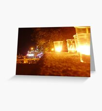 Odessa - In The Night - Commemorating MJ 2 Greeting Card