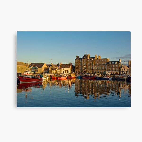 Kirkwall Harbour Canvas Print