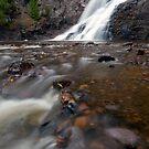 Caribou Falls. by Michael Treloar