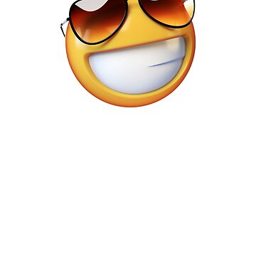 Emoji Smile with sunglasses by alhern67