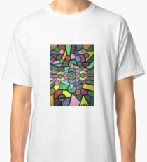 Abstract dots with purpose Classic T-Shirt