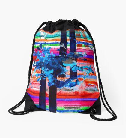 BAANTAL / Lines Drawstring Bag