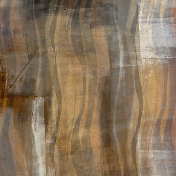 Modern Abstract in Black and Brown by JMarielle