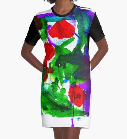 BAANTAL / Pollinate / Evolution #2 Graphic T-Shirt Dress