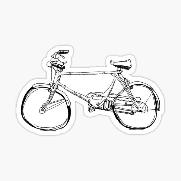 Kreuzer Fahrrad Sticker