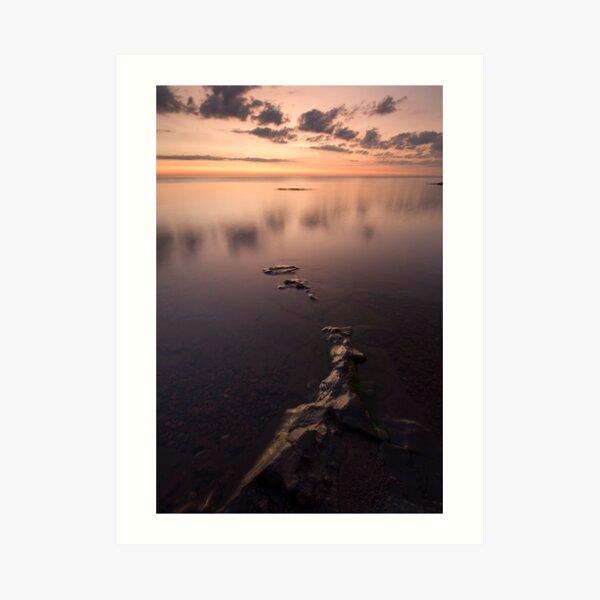 Lake Superior, Sunrise. Art Print