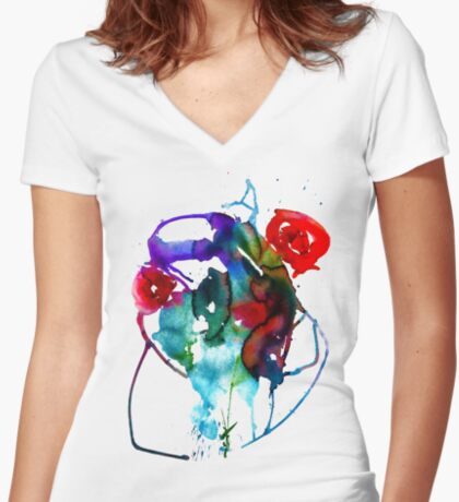 BAANTAL / Pollinate / Evolution Fitted V-Neck T-Shirt