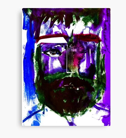 BAANTAL / Hominis / Faces #1 Canvas Print