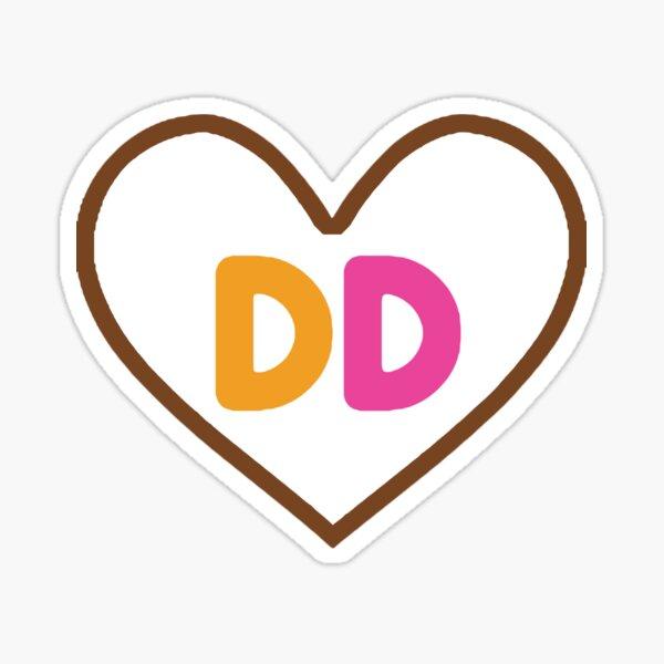DD Heart Sticker