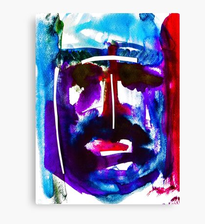 BAANTAL / Hominis / Faces #2 Canvas Print
