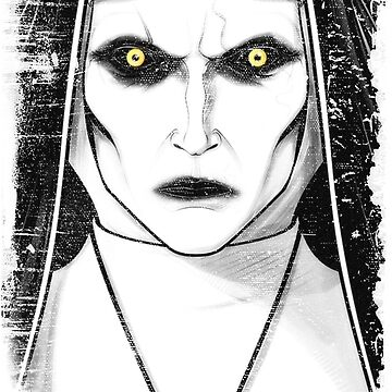 The Nun | the Demon Valak  by metaminas