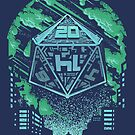 The D20 Cometh by artlahdesigns
