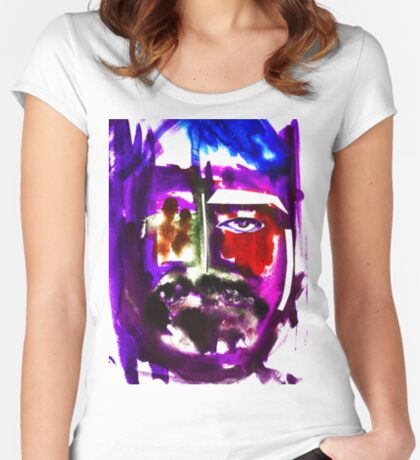 BAANTAL / Hominis / Faces #3 Fitted Scoop T-Shirt