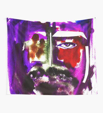BAANTAL / Hominis / Faces #3 Wall Tapestry