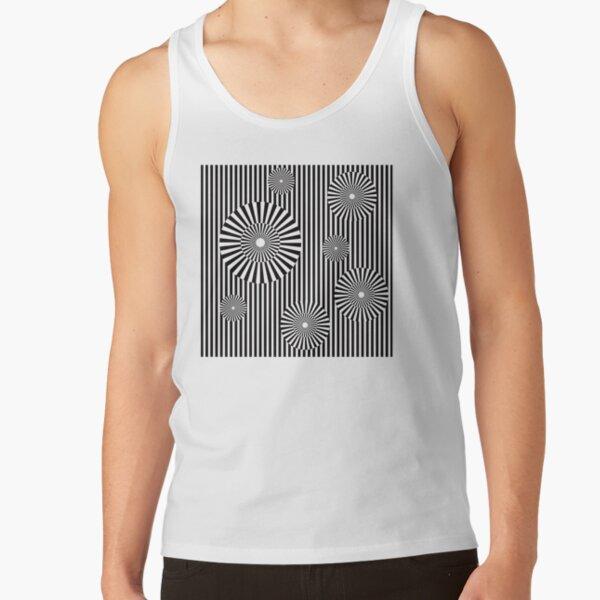 MOVING CIRCLES (BLACK) Camiseta de tirantes