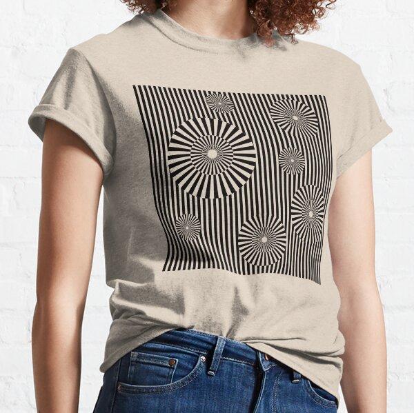 MOVING CIRCLES (BLACK) Camiseta clásica