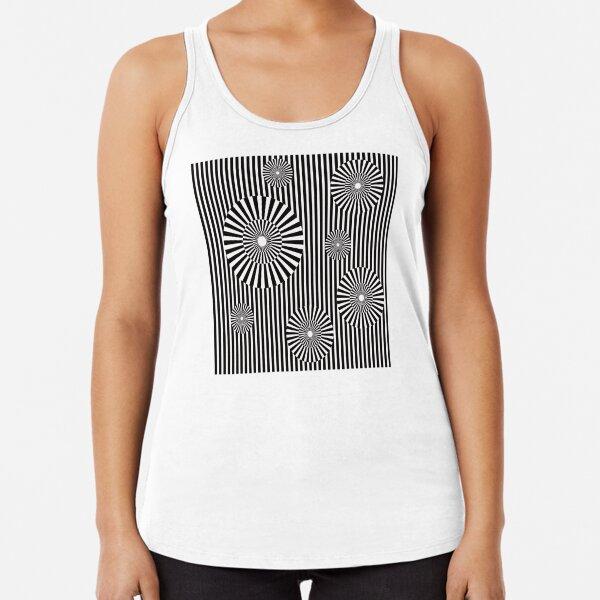 MOVING CIRCLES (BLACK) Camiseta con espalda nadadora