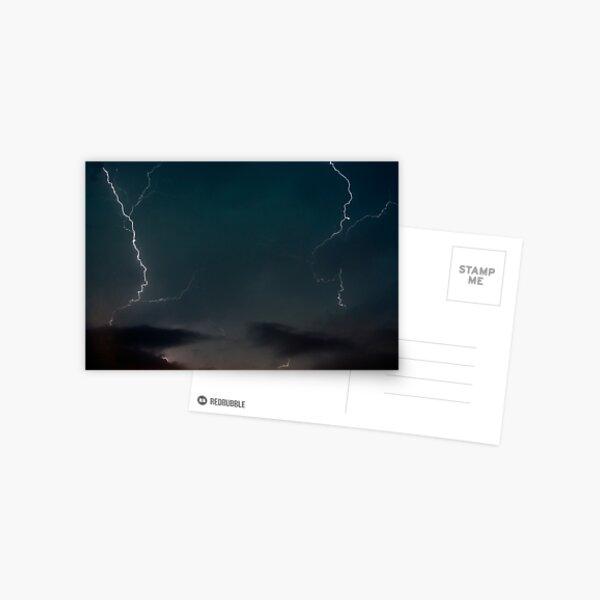 Double Lightning. Postcard