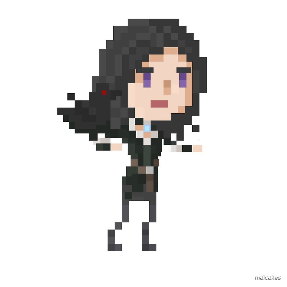 Pixel Yennefer by maicakes