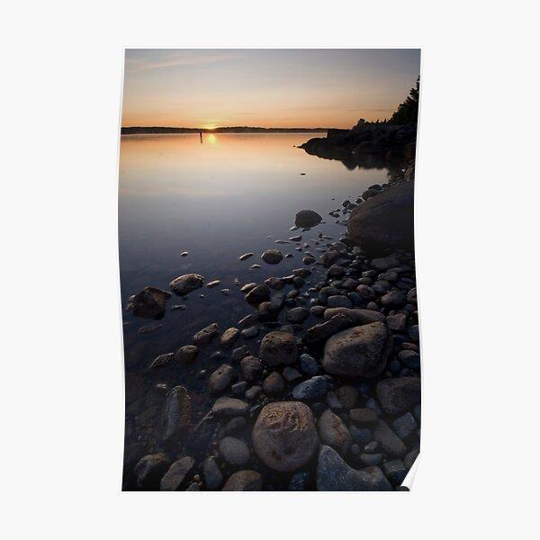Leech Lake, Sunrise. Poster
