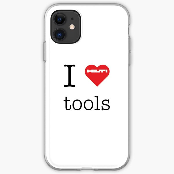 Ich liebe HILTI Werkzeuge! iPhone Flexible Hülle