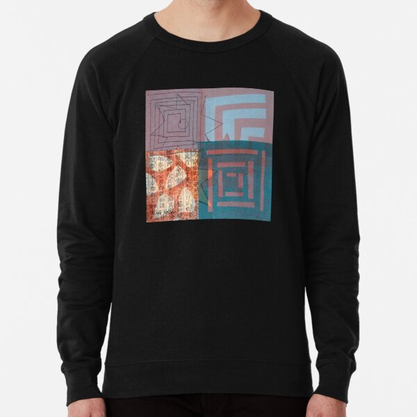 Star Smiling While Walking the Labyrinth Lightweight Sweatshirt