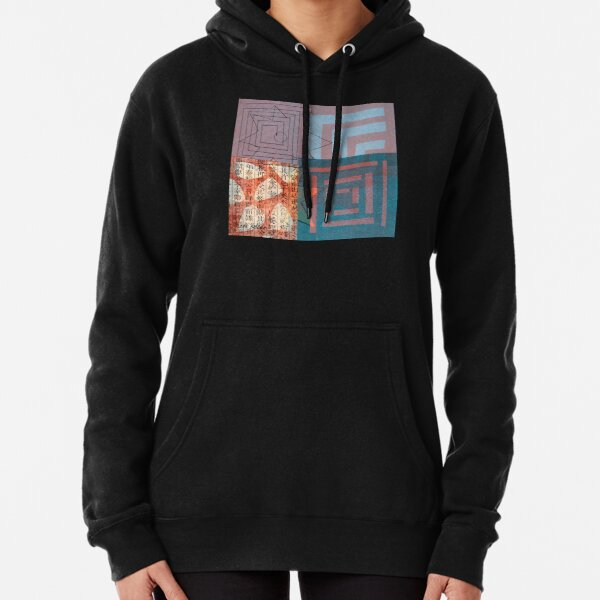 Star Smiling While Walking the Labyrinth Pullover Hoodie