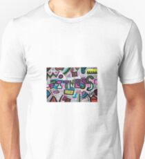 Fitness abstract drawing  Unisex T-Shirt