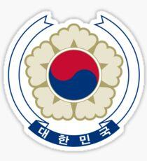 Emblem of South Korea  Sticker