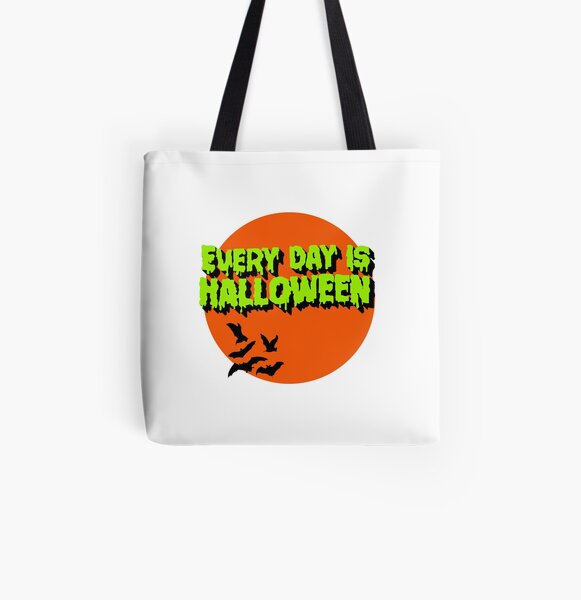 Every Day is Halloween All Over Print Tote Bag
