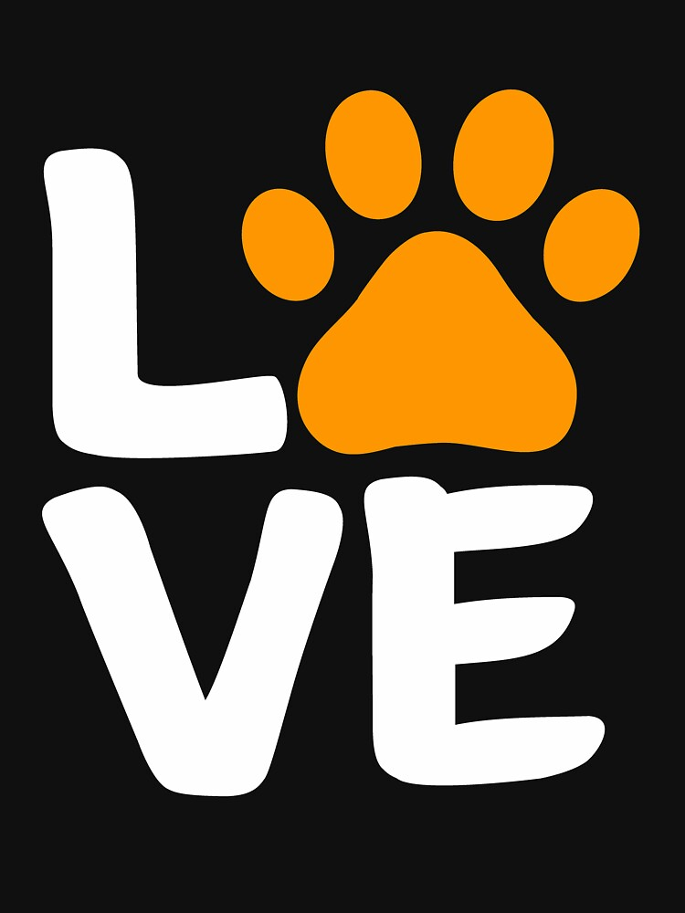 Love Paw Halloween Design for Dog Lovers by Dogvills