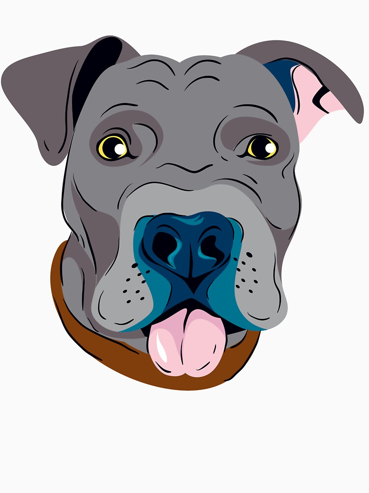 Cute Pit Bull Dog Lovers Gifts by Dogvills
