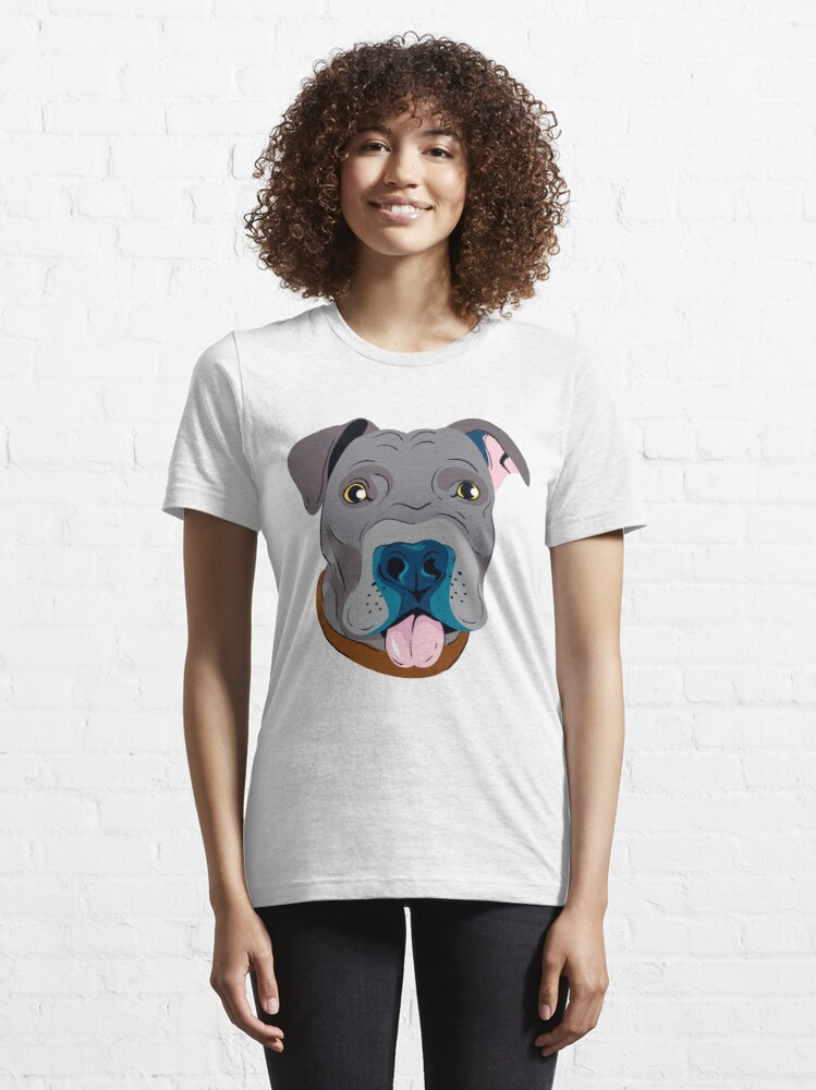 Alternate view of Cute Pit Bull Dog Lovers Gifts Essential T-Shirt