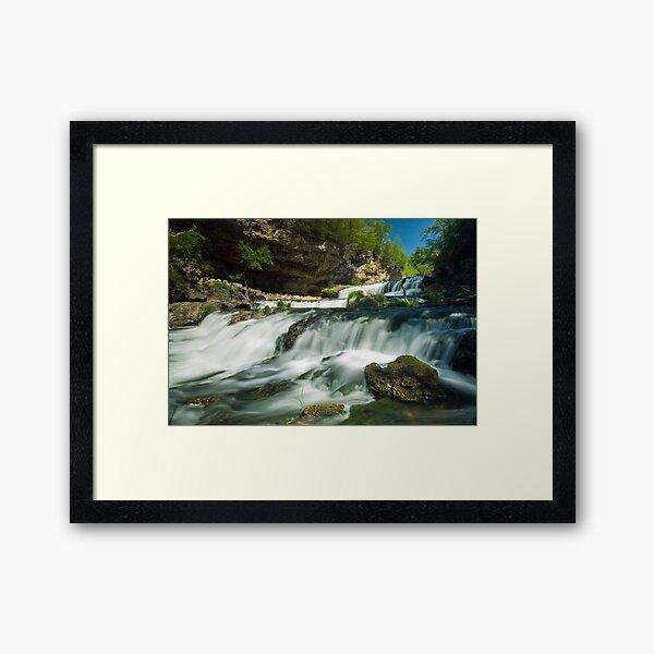 Willow Falls. Framed Art Print