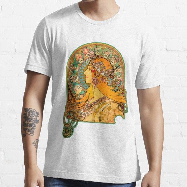 Zodiaque HD, (1896) - Alphonse Mucha T-shirt essentiel