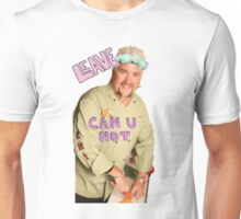 Guy Fieri Flower Crown [Transparent] Unisex T-Shirt