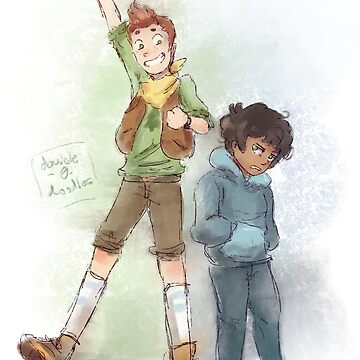 Camp Camp Boys by double0doodles