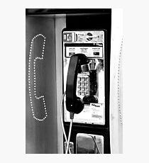 Telephone Photographic Print