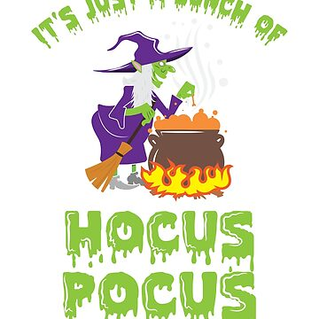 Halloween T-Shirt Bunch Of Hocus Pocus by mjacobp